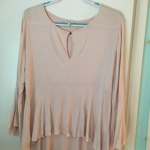 Lucky Brand light pink blouse